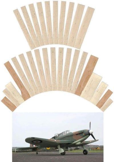 Boulton Paul Defiant Mk.1 - Laser Cut Wood Pack