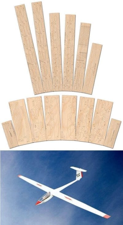ASW 19 & 20 - Laser Cut Wood Pack