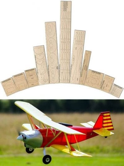Anreasson BA-4B - Laser Cut Wood Pack