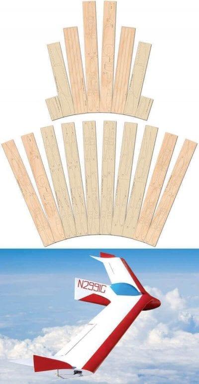 BKB-1 Sailplane - Laser Cut Wood Pack