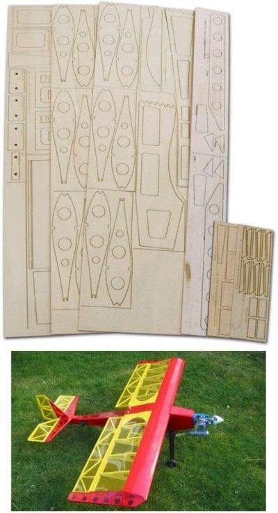 """Bruha (51"""") - Laser Cut Wood Pack"""