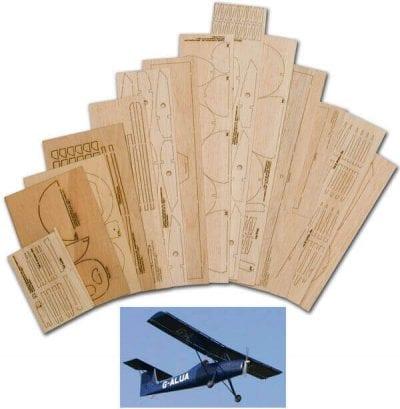 """Brunswick Zaunkonig LF1 (53"""") - Laser Cut Wood Pack"""